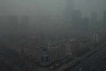 Nube contaminante nociva cubre 12 provincias de China