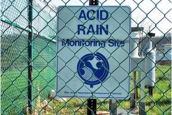 ¿Que es la lluvia acida?