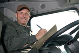 Los riesgos del trabajo del conductor de grandes vehículos
