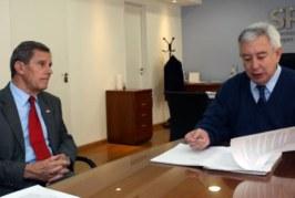 El Superintendente de la SRT se reunió con directivos de la Unión Industrial de Córdoba
