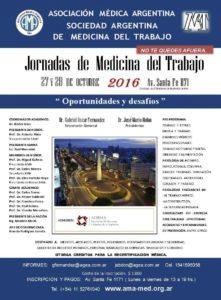 Jornadas Medicina del Trabajo 2016