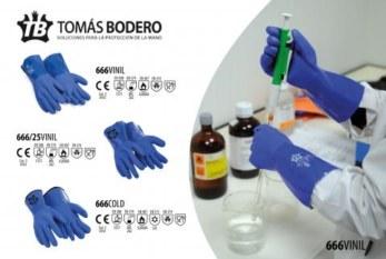 Nueva gama 666 frente a riesgos químicos