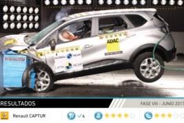 """Seguridad en los autos: Renault """"Captura"""" la atención con cuatro estrellas para la seguridad de adultos"""