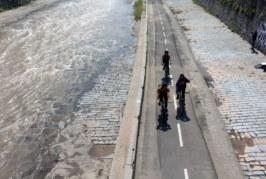 Seguridad Vial: Uso de bicicleta en Chile, 58% declara no usar casco y un 72% circula por las veredas